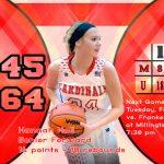 Girls Varsity Basketball falls to Unionville-Sebewaing Area 64 – 45