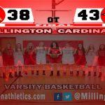 Girls Varsity Basketball falls to Frankenmuth 43 – 38