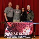 Lukas Selich Signing with Cleary University