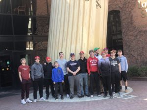 Baseball Team visits Louisville Slugger Museum