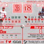 Boys Varsity Baseball sweeps Bentley