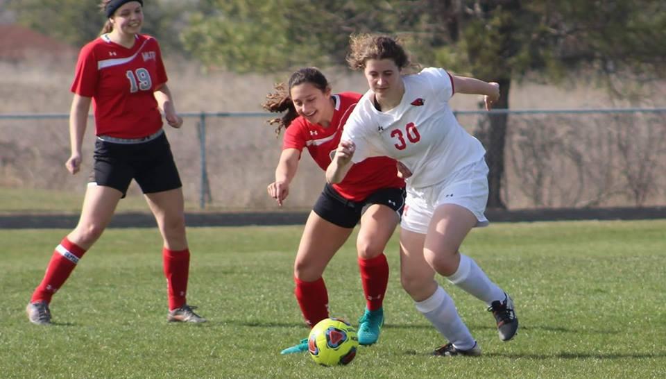 Girls Varsity Soccer falls to Frankenmuth 8 – 0