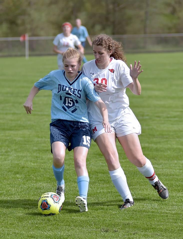 Girls Varsity Soccer falls to Garber 7 – 1