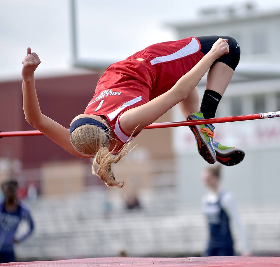 Hall Wins Regional Title in High Jump