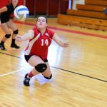 Girls Freshman Volleyball beats Unionville-Sebewaing Area 2 – 0