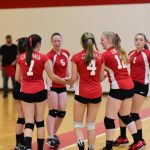 Girls Freshman Volleyball beats Carrollton 2 – 0
