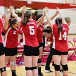 Girls Freshman Volleyball beats Birch Run 2 – 0