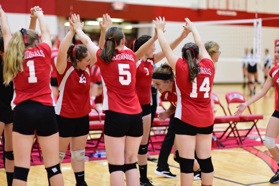Girls Freshman Volleyball vs Bullock Creek