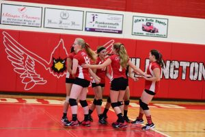 Pictures – Freshman Volleyball vs Swan Valley