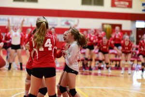 Pictures – JV Volleyball vs Swan Valley