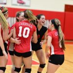 Girls Freshman Volleyball vs Garber 2 – 0