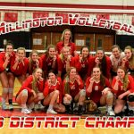 Volleyball wins 1st District since 2003