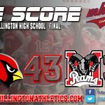 Millington's 2nd half propels them into District Final