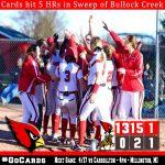 Millington hits 5 home runs in sweep of Bullock Creek