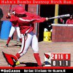 Hahn's Bombs Destroy Birch Run