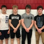 4×100 Jr High Team Shatters Record