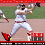 Sherman Dominates in Escanaba Tournament