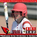 Roberts leads Millington in Backyard Challenge