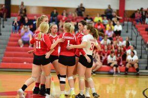 Pictures – Varsity Volleyball vs. Carrollton