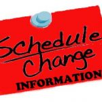 Middle School Basketball Schedule Change
