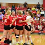 Millington Volleyball plays in Caro Invitational