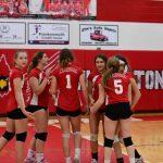 Pictures - Freshman Volleyball vs. Hemlock