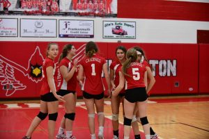 Pictures – Freshman Volleyball vs. Hemlock