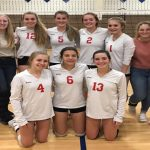JV Volleyball finishes season 23-4-3