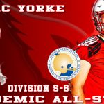 Yorke and Football Team are Academic All-State