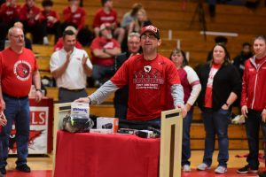 "Millington Athletics honors Brian ""The Rock"" Glady"