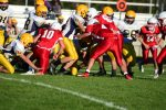 Boys Junior Varsity Football beats Standish Sterling Central 26 – 8