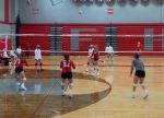 Girls Junior Varsity Volleyball beats Frankenmuth 2 – 1
