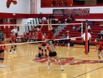 Volleyball defeats Michigan Lutheran Seminary on Parent's Night