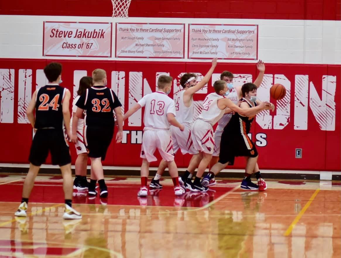 JV Basketball pics vs Vassar