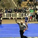 Wrestling: Burton finishes 1-2 as state finalist