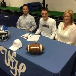 Football: Kevin James signs with Bethel