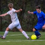 Soccer: Dixon on fire, Devils scorch Patriots