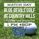 Golf: Devils in tri-match Thursday at 1 p.m.