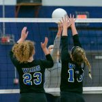 Volleyball: Lady Devils earn first district win