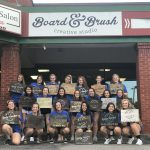 Volleyball Photos: Board and Brush