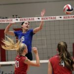 Tennessean Photos: WH vs. WH Heritage Volleyball