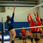 Photos: WHMS vs. T.W. Hunter Middle Volleyball
