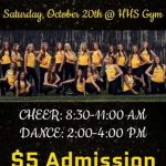 Dance Team at Hendersonville Saturday 2 p.m.