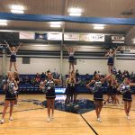 WHMS Cheer at home vs. Portland West