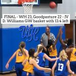 Lady Devils JV beats Goodpasture, 23-22
