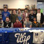 Baseball Photos: Michael Frye signs with Lindsey Wilson