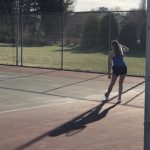 Tennis Photos: WH vs. Portland