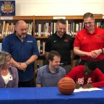 Basketball Story: Arnold signs with Martin Methodist