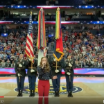 Watch: Ava Nicole opens SEC Tournament with National Anthem