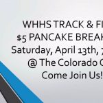 Track and Field: Pancake Breakfast Saturday 7-10 am